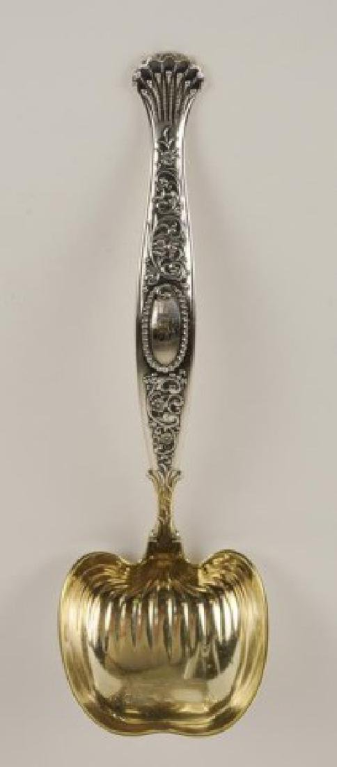"""Whiting """"Hyperion"""" Sterling Soup Ladle"""