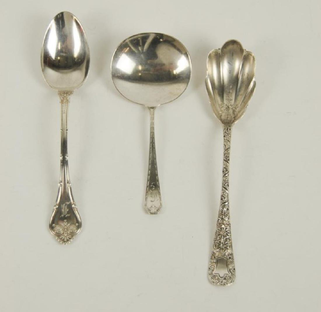 14 Whiting Mfg. Co. Sterling Serving Pieces - 3