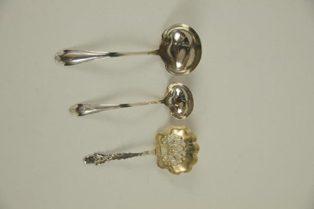 14 Whiting Mfg. Co. Sterling Serving Pieces - 4