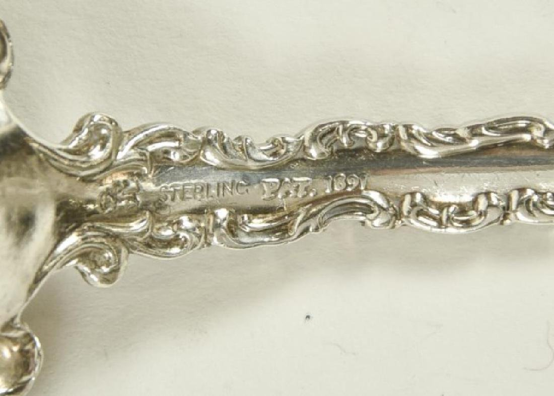"""Whiting """"Louis XV"""" Sterling Flatware - 3"""
