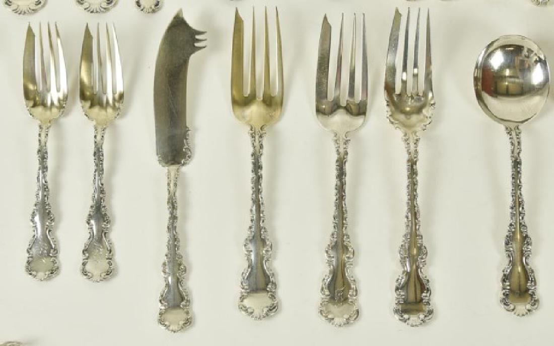 """Whiting """"Louis XV"""" Sterling Flatware - 7"""