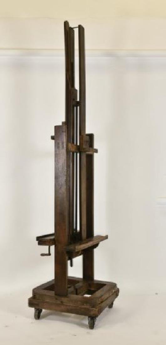 19th Century Double Sided Artist's Easel - 4