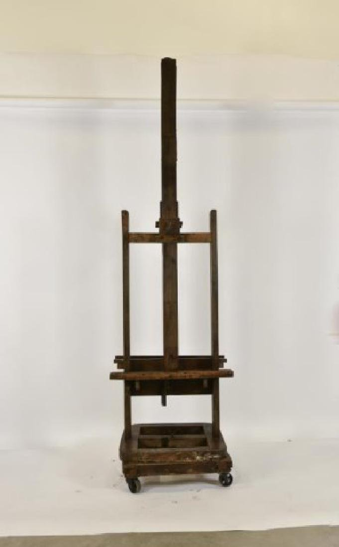 19th Century Double Sided Artist's Easel - 5