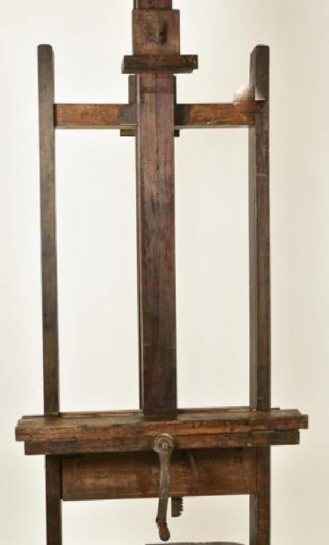 19th Century Double Sided Artist's Easel - 8