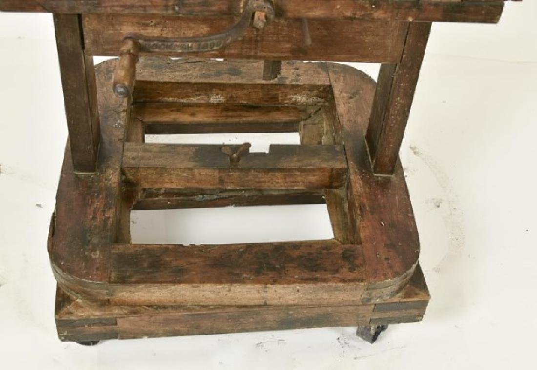 19th Century Double Sided Artist's Easel - 9
