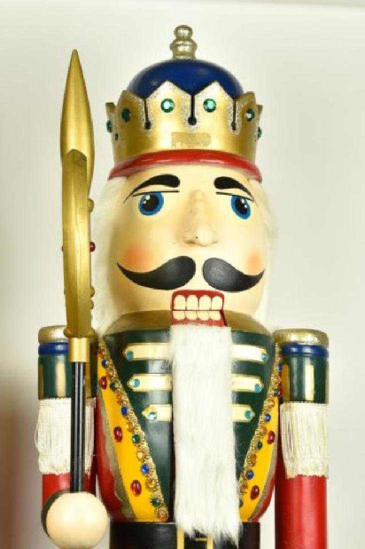 Two 5' Tall Operable Nutcrackers - 2