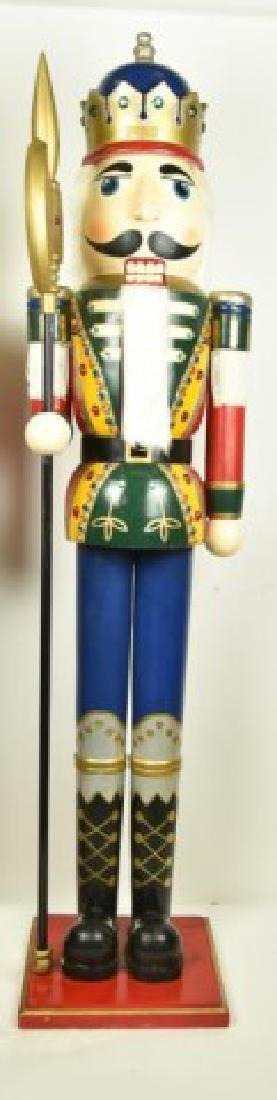 Two 5' Tall Operable Nutcrackers - 3