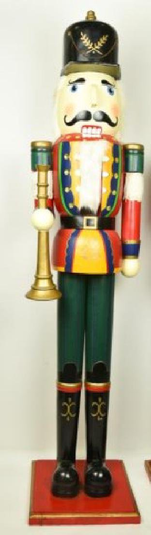 Two 5' Tall Operable Nutcrackers - 4