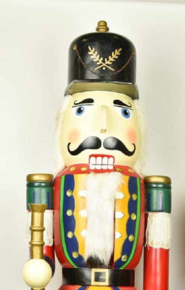 Two 5' Tall Operable Nutcrackers - 5