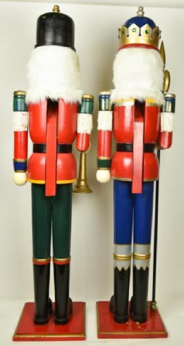Two 5' Tall Operable Nutcrackers - 6
