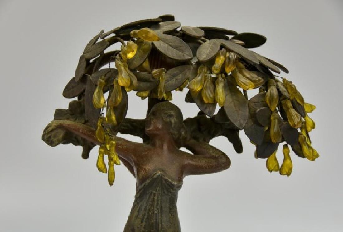 Art Nouveau Figural Lamp - 5
