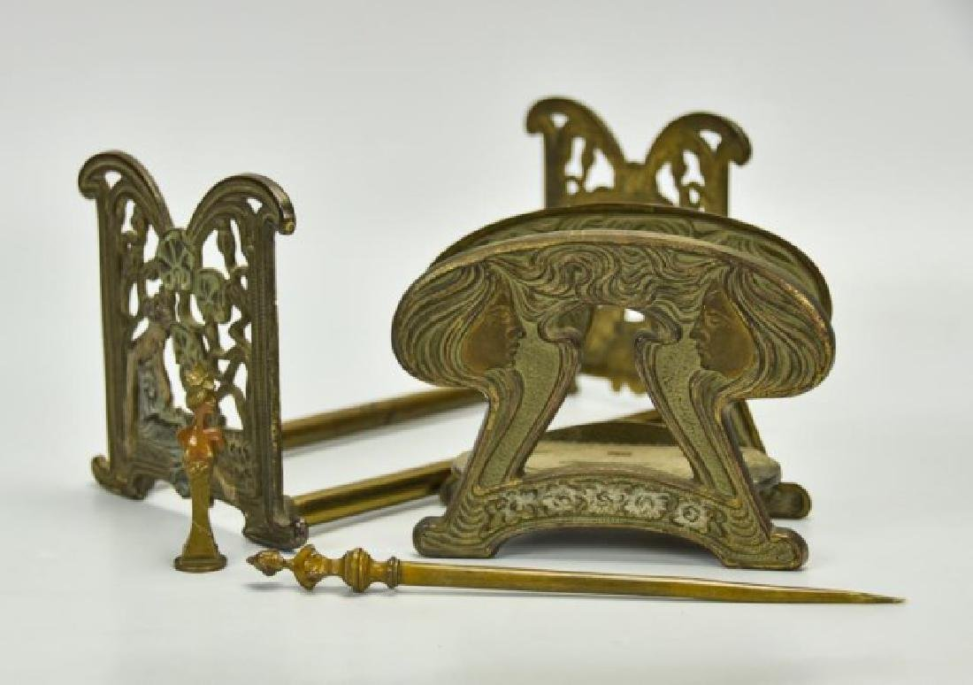 Art Nouveau Desk Accessories--Wax Seal, Etc. - 4