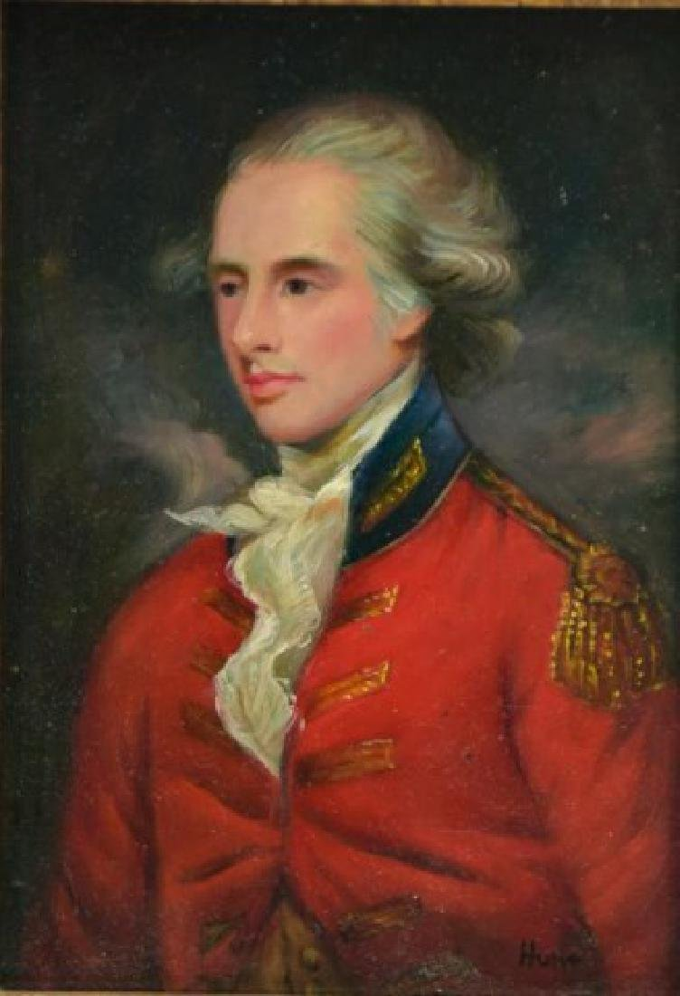 Portrait of an English Officer - 2