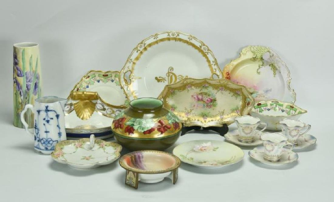 Lot of R.S. Prussia, Nippon & Other Porcelain