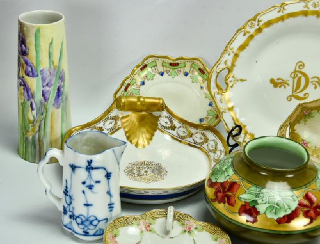 Lot of R.S. Prussia, Nippon & Other Porcelain - 3