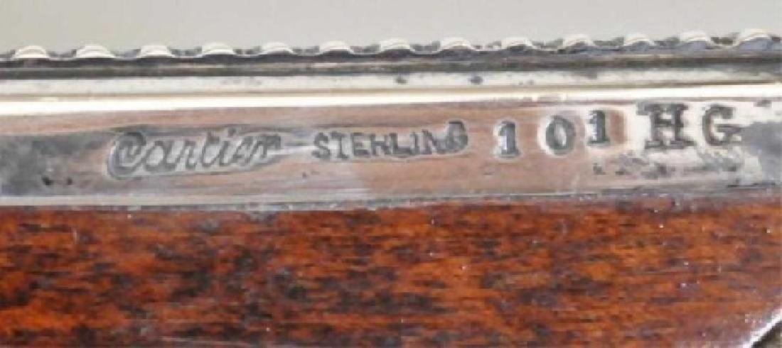 Cartier Sterling Desk Set - 8
