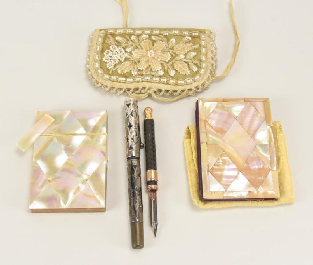 Retractable Pen/Pencil, Sterling Pen, Card Cases