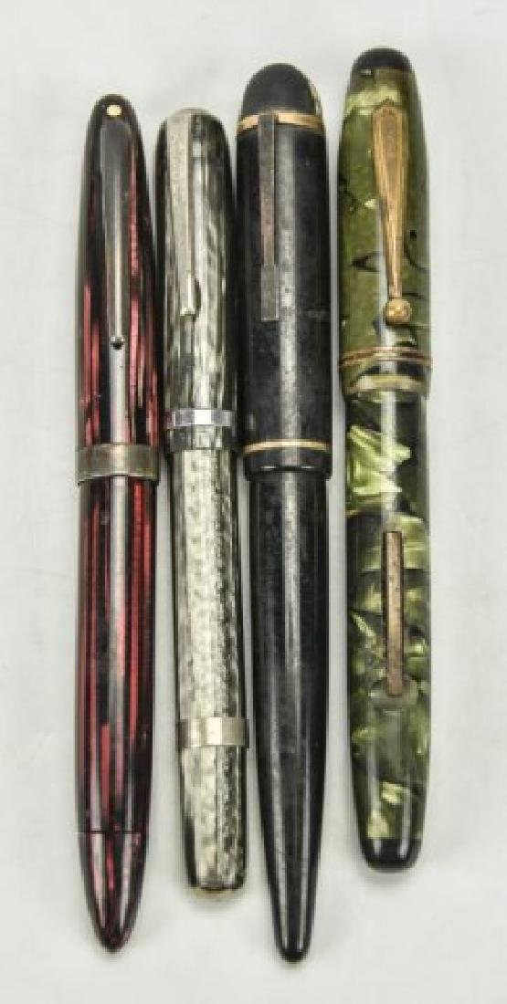 Four Fountain Pens