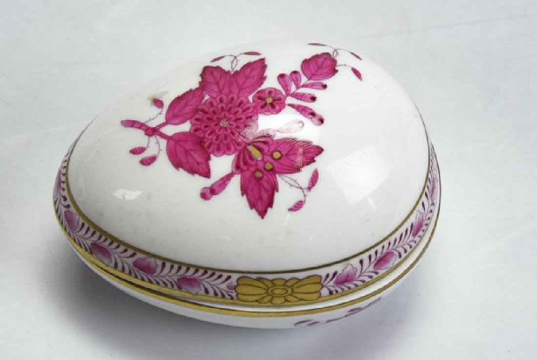 3 Pieces of Herend Porcelain - 3