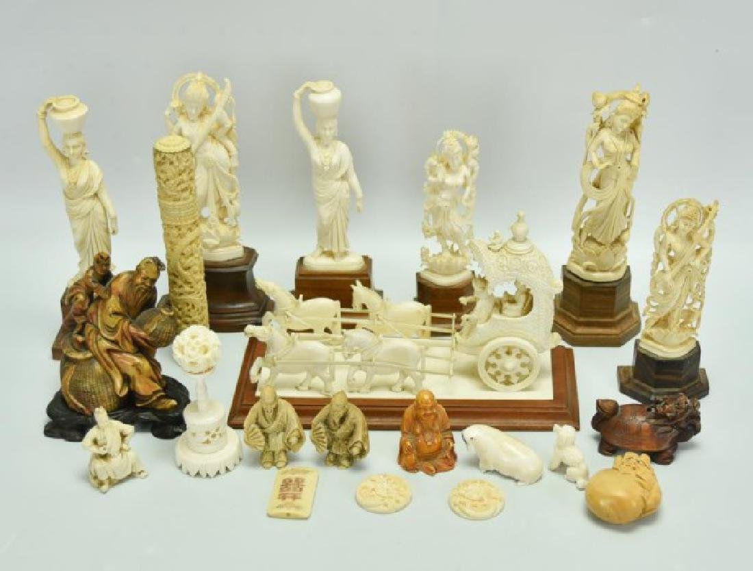 Lot of Chinese & Oriental Decorative Items