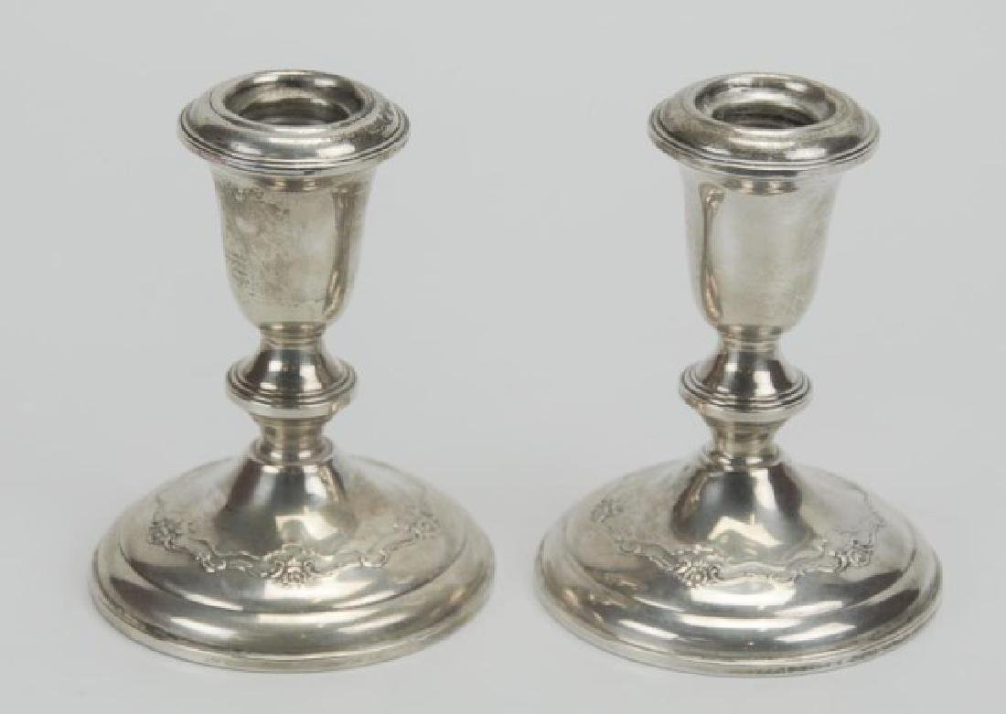Pr. Towle French Provincial Sterling Candlesticks