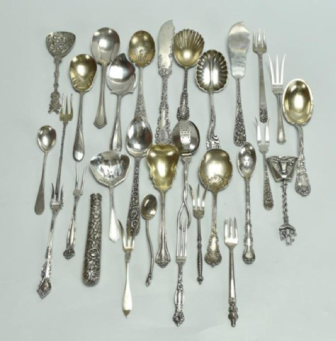 Mostly Sterling--Repousse, Other Tableware
