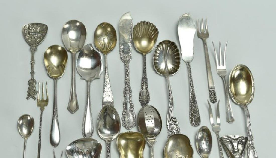 Mostly Sterling--Repousse, Other Tableware - 2