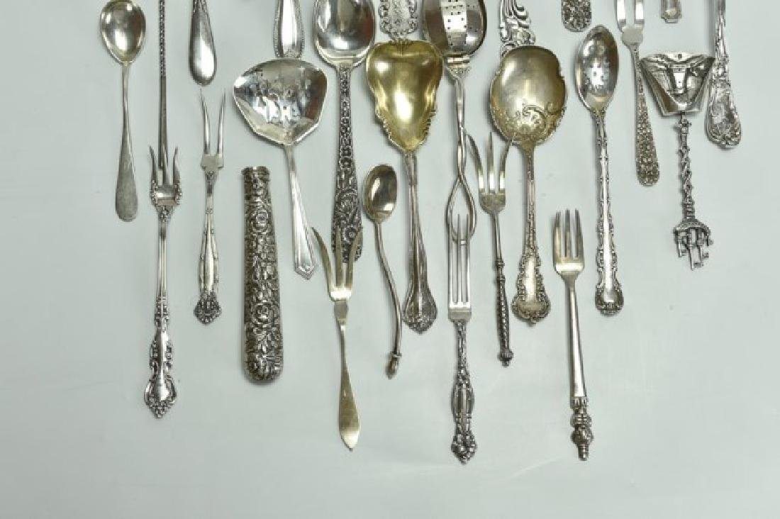 Mostly Sterling--Repousse, Other Tableware - 4