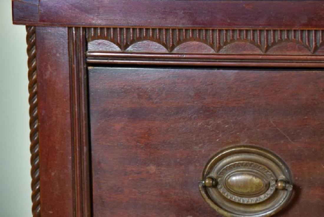 Hickory Mfg. Co. Federal Style Bow Front Chest - 3