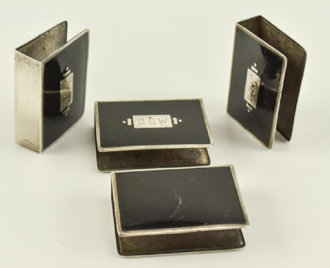 Sterling Match Safes and Matchbook Covers - 3