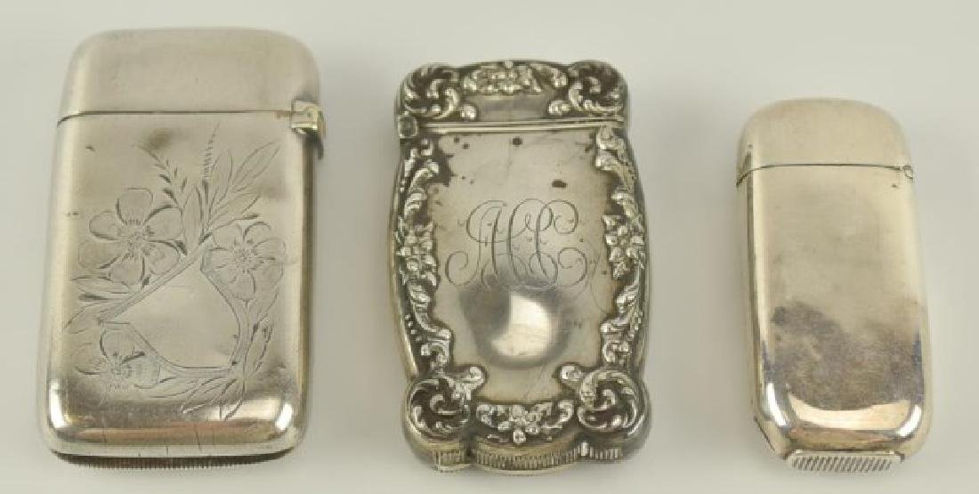Sterling Match Safes and Matchbook Covers - 4