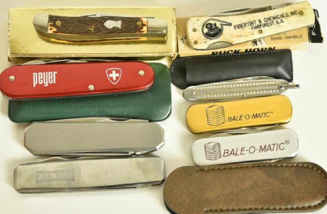Pocket Knives, Masonic Jewelry, Two Lighters - 3