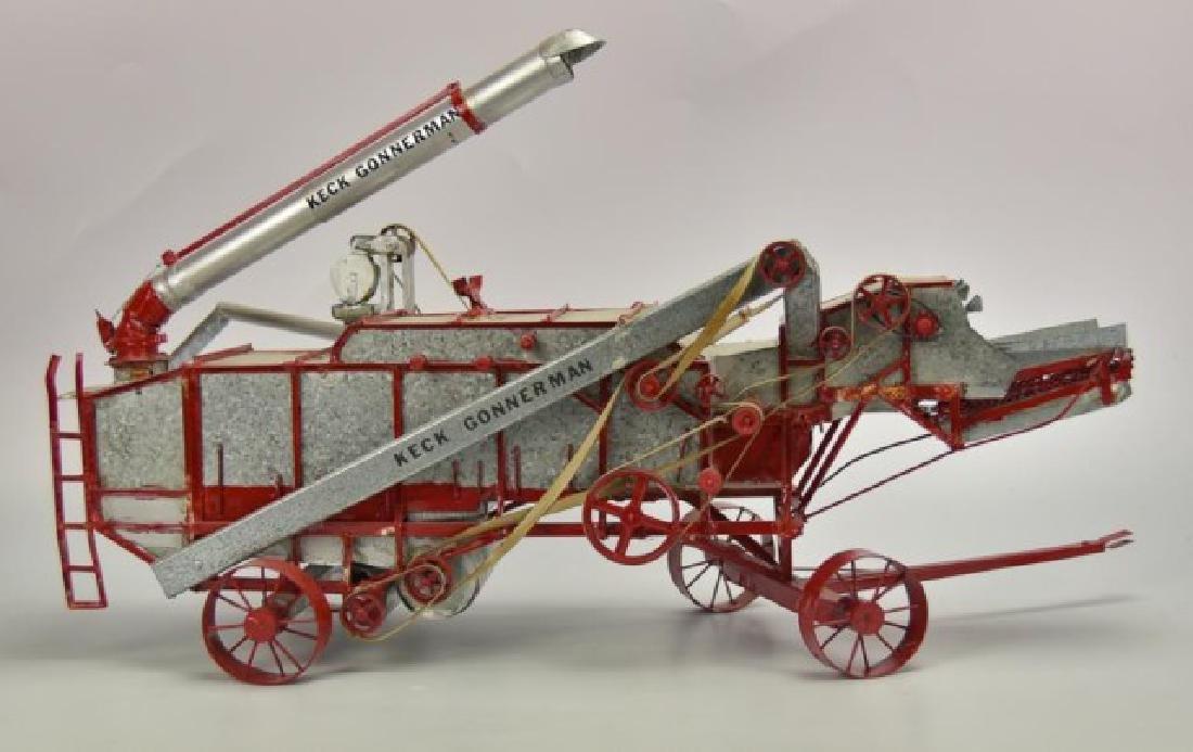 Detailed Model Keck Gonnerman Threshing Machine