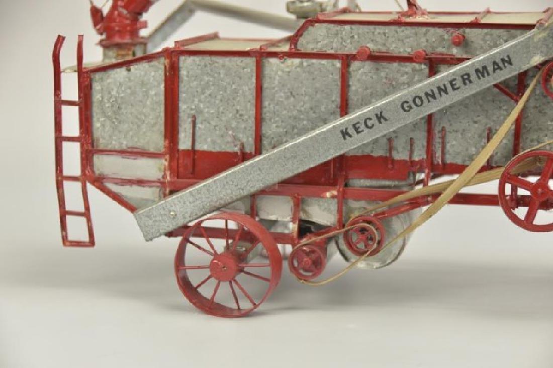 Detailed Model Keck Gonnerman Threshing Machine - 2