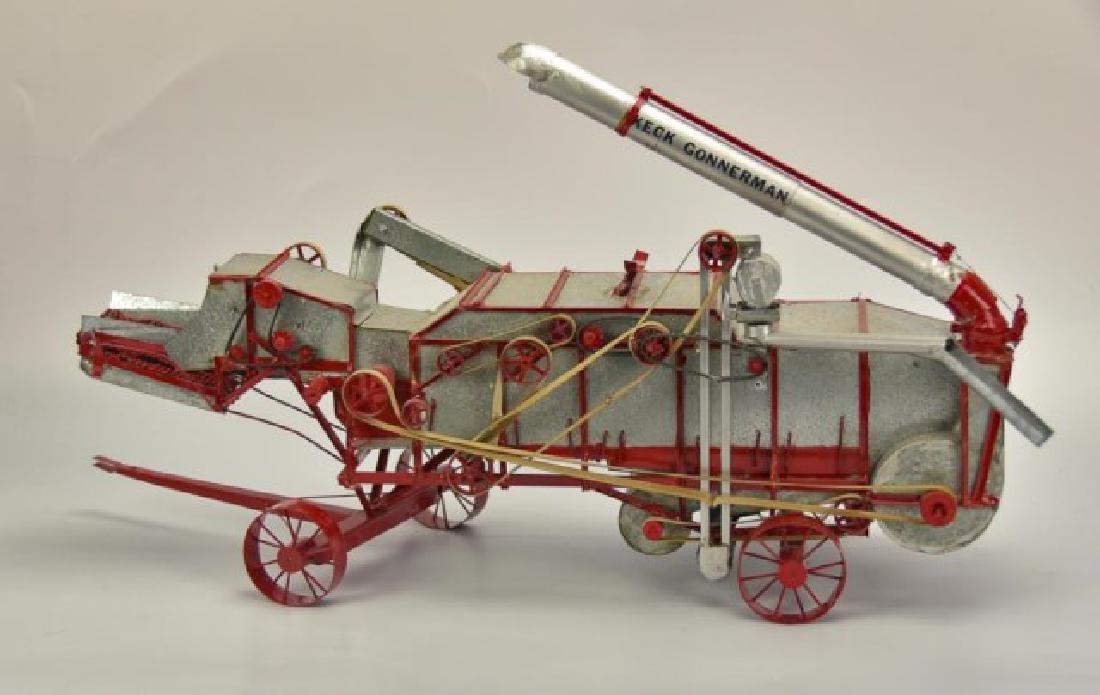 Detailed Model Keck Gonnerman Threshing Machine - 5