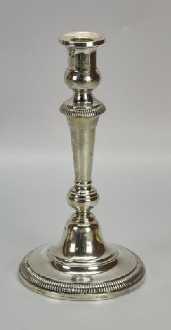 Pair of Ellmore Sterling Silver Candelabra - 4
