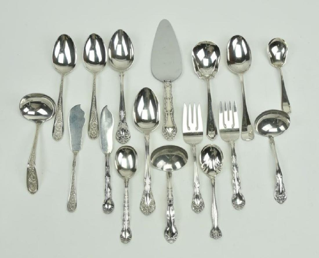 17 Pieces American Sterling Silver