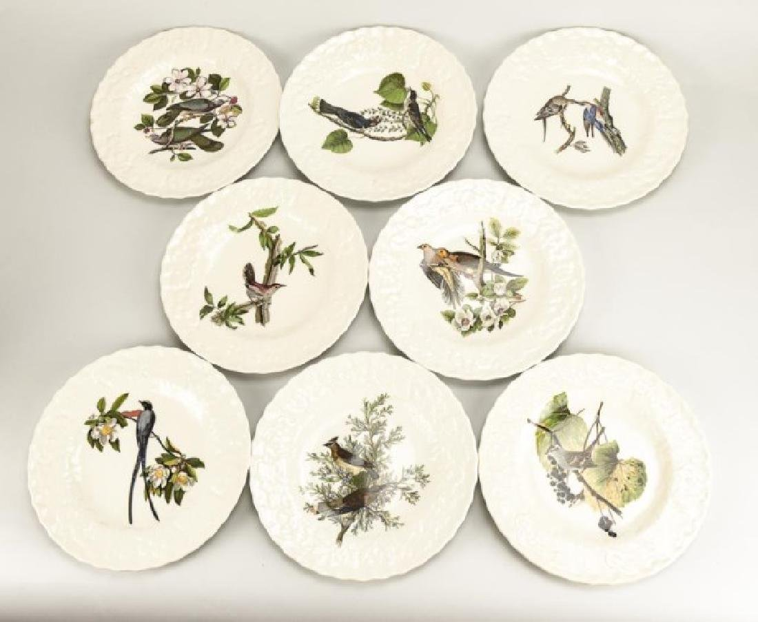 Set of 8 Alfred Meakin Birds of America Plates