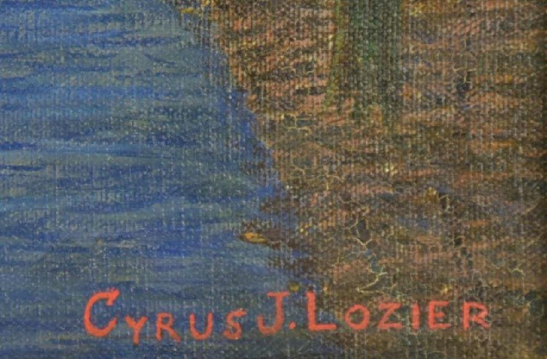Cyrus J. Lozier Oil on Canvas - 3