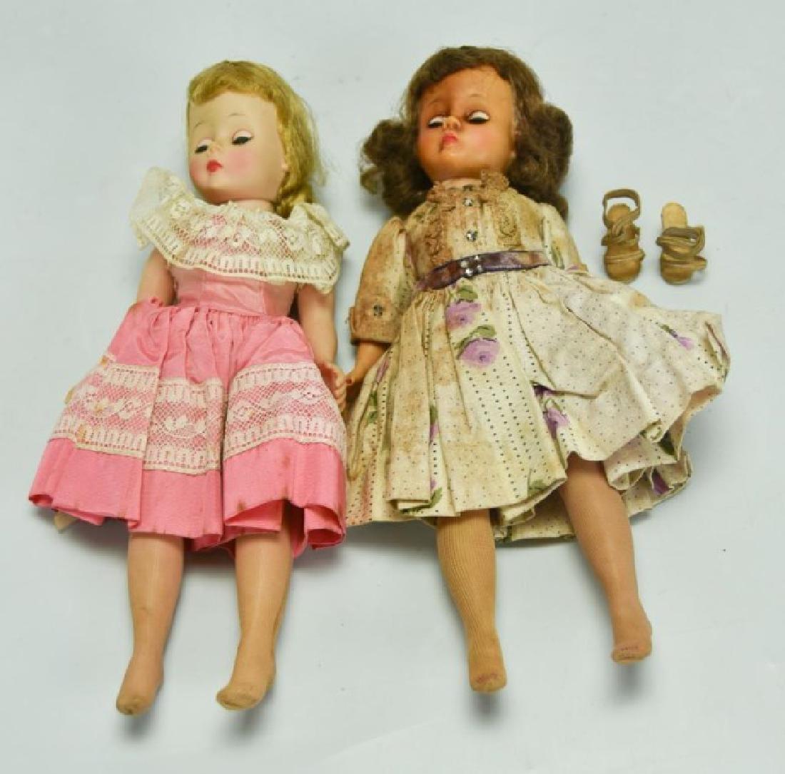 Two Madame Alexander Cissette Dolls