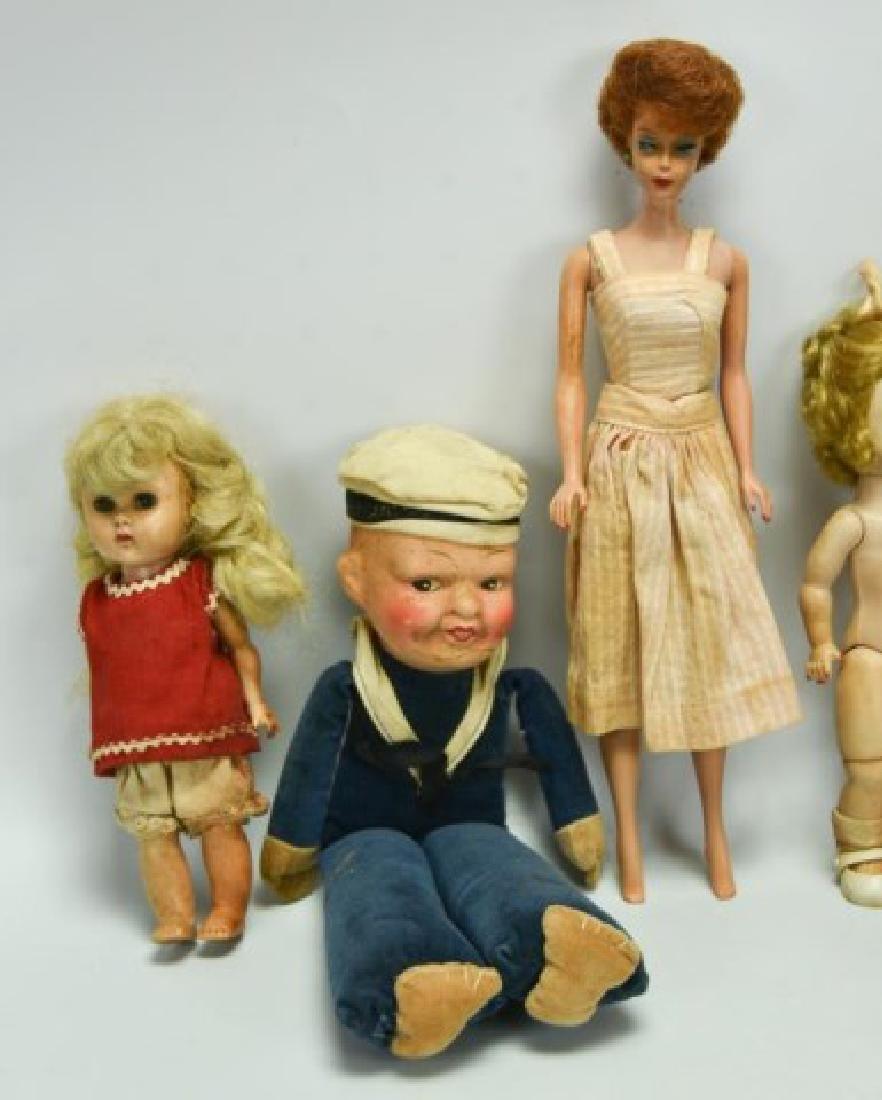 Lot of Dolls, Doll Parts, Clothes - 4