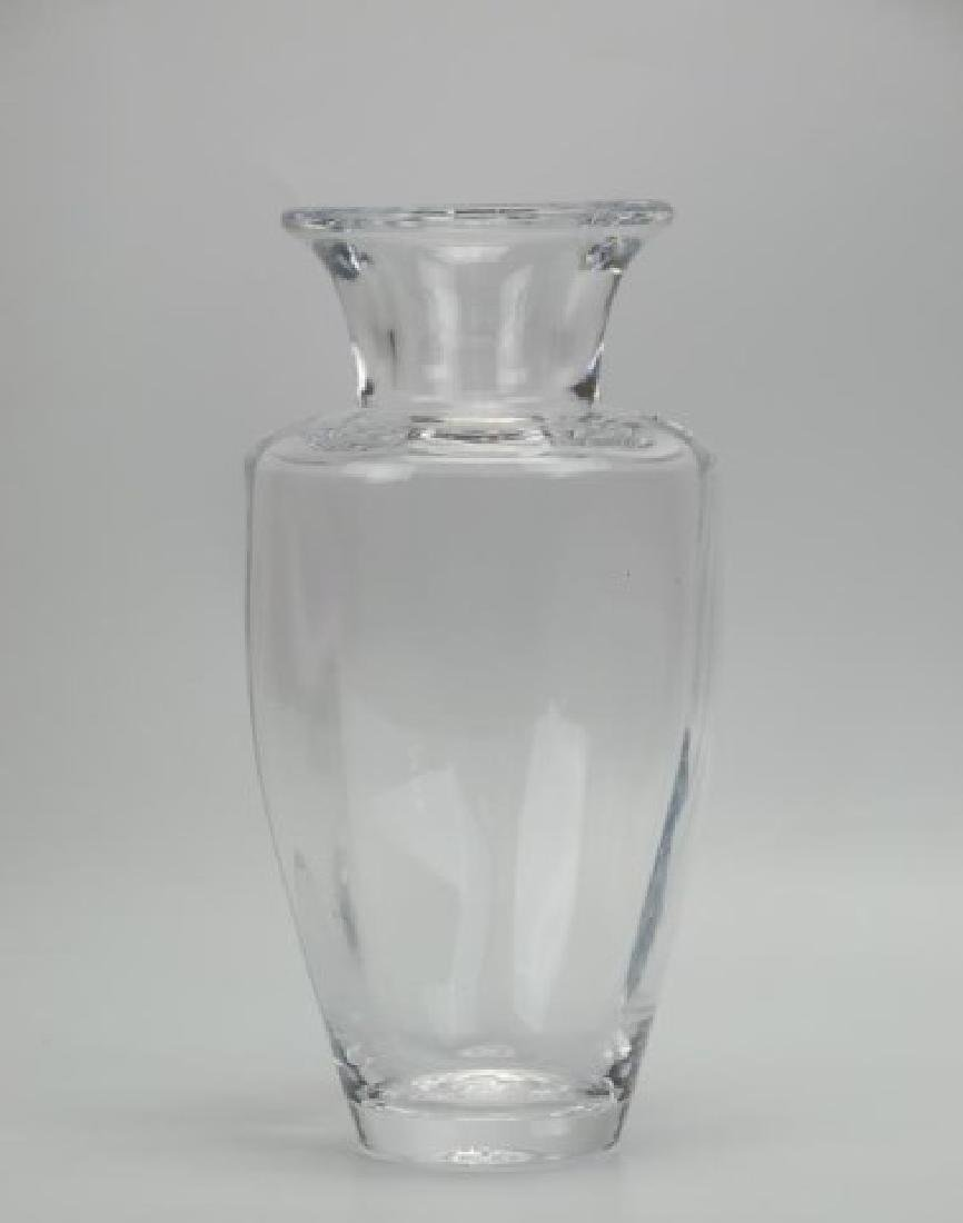 2 Glass Vases--Loetz Style and Simon Pearce - 2