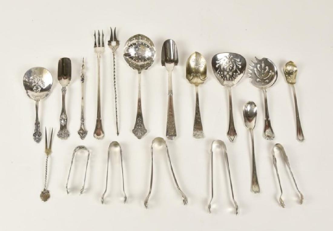 18 Pcs. American Sterling Silver