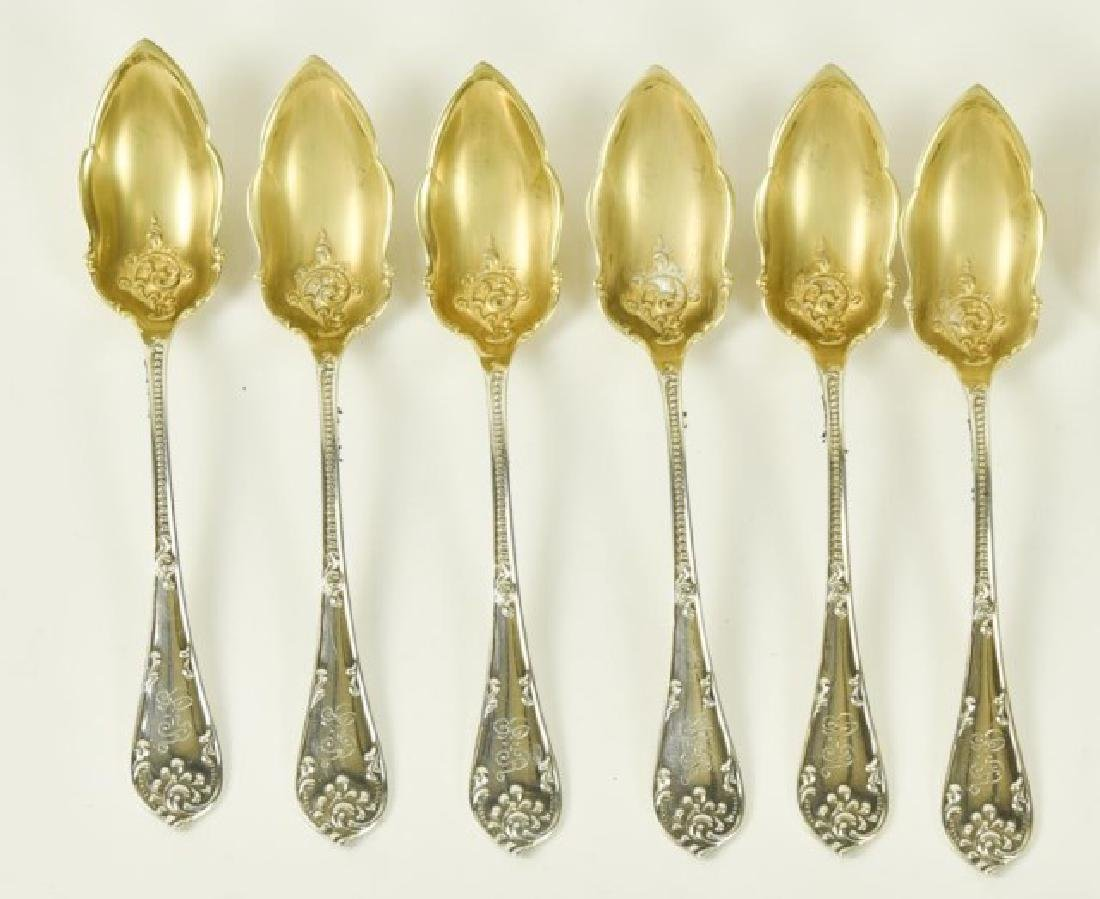 Five Sets of Sterling Citrus Spoons - 4