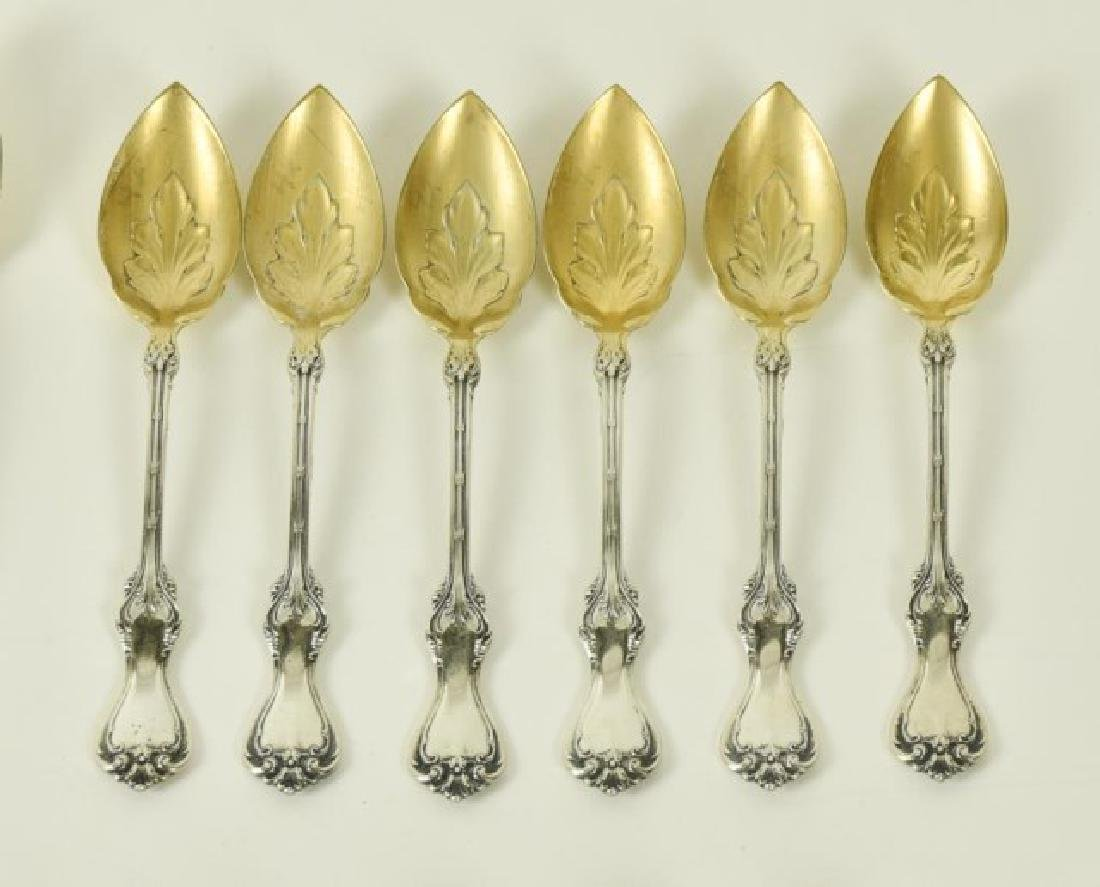 Five Sets of Sterling Citrus Spoons - 6