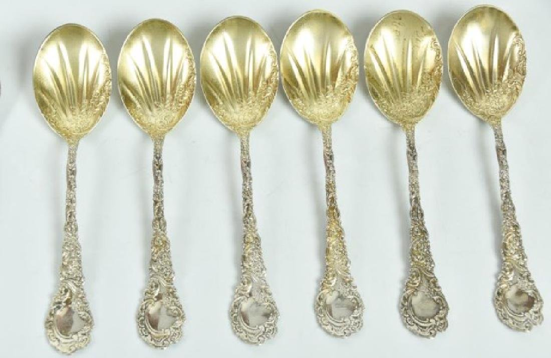 Assorted Sterling Ice Cream Spoons & Sporks - 2