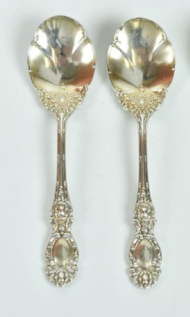 Assorted Sterling Ice Cream Spoons & Sporks - 3