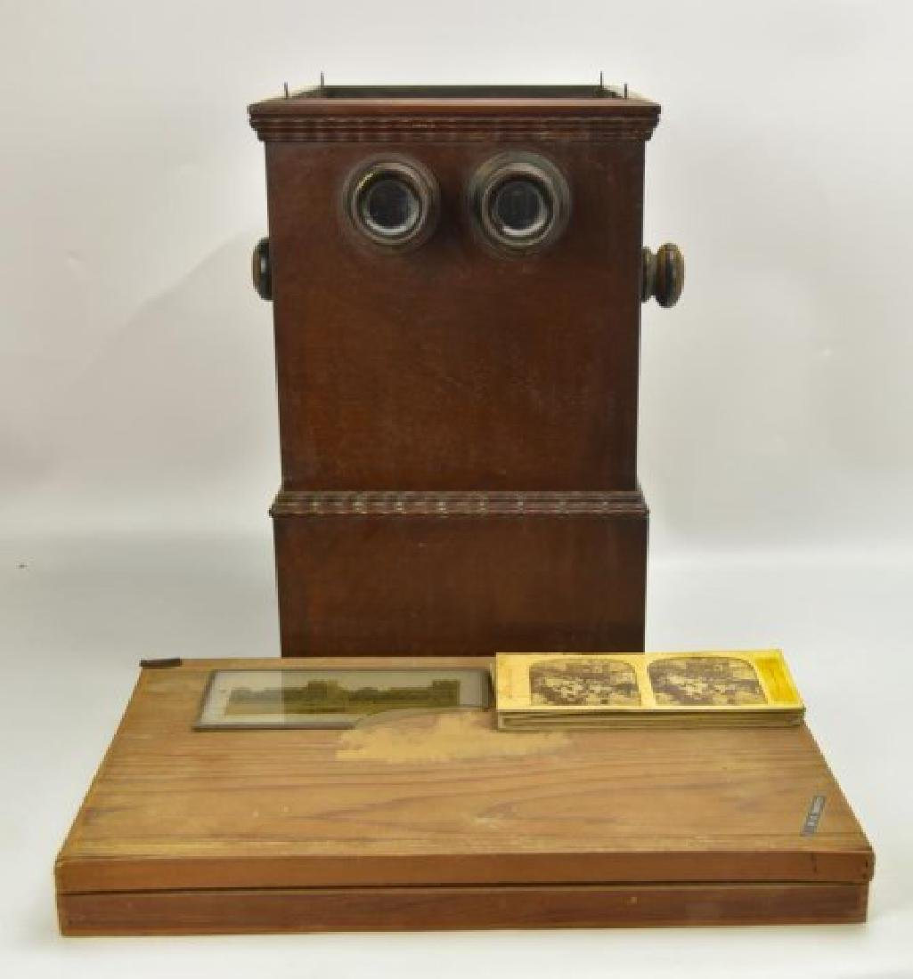 Double-Sided Stereo Viewer w/ Glass Slides