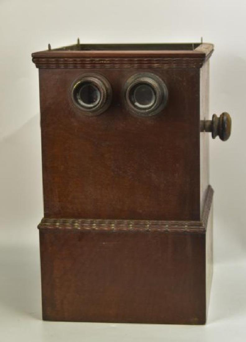Double-Sided Stereo Viewer w/ Glass Slides - 2