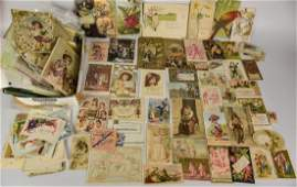 Late 19th/Early 20th C. Trade Cards, Other Items
